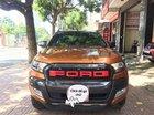 Bán Ford Ranger Wildtrak 3.2 4x4 AT 2016, màu cam