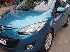 Cần bán lại xe Mazda 2 1.5AT 2012, màu xanh lam, nhập khẩu Nhật Bản