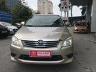 Cần bán xe Toyota Innova MT 2013, màu vàng, giá 545tr, biển HN xe đẹp, liên hệ 0942920132