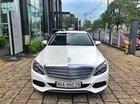 Bán xe Mercedes C250 trắng 2016 cũ chính hãng, trả trước 400 triệu nhận xe ngay