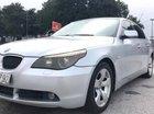 Cần bán lại xe BMW 5 Series 3.0 AT đời 2005, màu bạc