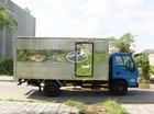 Isuzu 1T9 thùng dài 6m2 thùng kín, trả trước 20%, giá cạnh tranh có trả góp