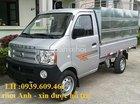 Xe tải Dongben 870kg, thùng mui bạt, hỗ trợ trả góp