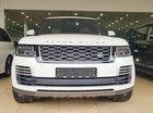 Bán Range Rover Autobiography LWB bản 5.0L V8 Supercharge model 2019 màu trắng, nội thất nâu