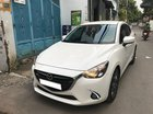 Lên sóng em Mazda 2 model 2017 số tự động, màu trắng Ngọc Trinh