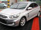Cần bán Hyundai Accent 1.6 năm 2010, màu bạc, xe nhập