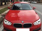 Bán xe BMW 118i màu đỏ/đen sản xuất 2015, đăng ký 2016, nhập khẩu Đức, biển Hà Nội