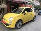 Bán ô tô Fiat 500 sản xuất năm 2011, màu vàng, nhập khẩu nguyên chiếc, còn mới