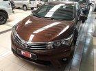Bán Toyota Corolla Altis 1.8G đời 2017, màu nâu, giá chỉ 755 triệu thương lượng với khách hàng thiện chí mua xe Toyota