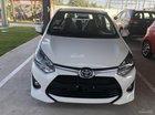 Bán Toyota Wigo 1.2G AT số tự động, sản xuất năm 2019, màu trắng, nhập khẩu