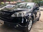 Cần bán xe Honda CR V 2.4 đời 2008, màu đen, giá tốt