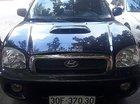 Bán xe Hyundai Santa Fe Gold 2.0 AT đời 2002, màu đen, nhập khẩu