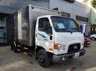 Bán xe tải Hyundai New Mighty 75S, thùng kín inox, giảm giá ưu đãi, có sẵn xe và hồ sơ