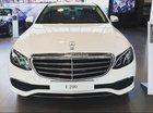 Bán xe Mercedes E200 màu trắng, giá tốt, giao xe ngay