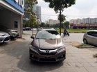 Cần bán Honda City AT 2017, màu nâu như mới, giá chỉ 555 triệu