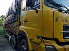 Cần bán thanh lý 4 chân Dongfeng 17.9 tấn, đời 2014, màu vàng, giá bán 488tr