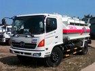 Bán xe bồn, xe téc chở xăng dầu Hino 10-12 khối