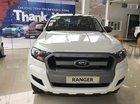 Ford Ranger XLS AT 2018, màu trắng tại Bắc Giang, nhập khẩu Thái Lan, trả góp 90% xe giao ngay - 0989022295