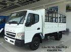 Bán xe tải Nhật Mishubishi Fuso Canter 4.99 tải 2.2 tấn thùng dài 4,3m 2018, đủ các loại thùng, sẵn xe giao ngay
