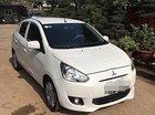 Cần bán gấp Mitsubishi Mirage MT năm 2014, màu trắng, nhập khẩu