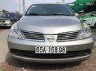 Cần bán Nissan Tiida 1.6 AT 2007, màu bạc, nhập khẩu giá cạnh tranh