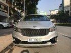 Cần bán lại xe Kia Sedona 3.3 Gat đời 2017, màu bạc, giá tốt