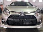 Cần bán xe Toyota Wigo 1.2MT sản xuất năm 2018, màu bạc, nhập khẩu