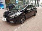 Cần bán gấp Kia Cerato 1.6AT năm 2016, màu đen số tự động, giá chỉ 589 triệu
