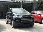 Bán Ford EcoSport 1.5L AT Titanium năm 2016, màu đen, giá 545tr