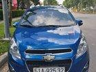 Cần bán Chevrolet Spark LTZ 2014, màu xanh lam, xe gia đình