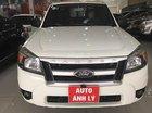 Bán Ford Ranger XL 2.5L 4x4 MT năm sản xuất 2011, màu trắng, nhập khẩu Thái Lan