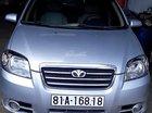 Bán ô tô Daewoo Gentra MT đời 2010, màu bạc còn mới, 210tr