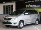 Cần bán xe Toyota Innova E 2.0MT năm sản xuất 2013, màu bạc, giá chỉ 528 triệu