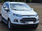 Bán Ford EcoSport Titanium 1.5 AT 2017, màu trắng ít sử dụng, giá tốt