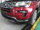 Bán Ford Explorer Limited đỏ, đen, lăn bánh giao ngay, ưu đãi chính hãng