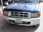 Bán Ford Ranger đời 2002, màu xanh lam số sàn, 159tr