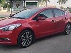 Bán Kia K3 1.6 AT đời 2015, màu đỏ đẹp như mới, giá 550tr