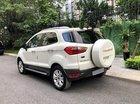Cần bán xe Ford EcoSport Titanium đời 2014, màu trắng