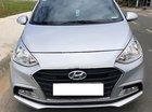 Bán Hyundai Grand i10 1.2 MT đời 2017, màu bạc, giá tốt