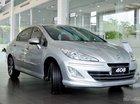 [Peugeot Bình Dương] 408 Deluxe, màu bạc, xe châu âu mới 100% chỉ 670tr, trả trước 190tr lấy xe (1 chiếc duy nhất)