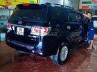 Xe Toyota Fortuner 2.7V 4x4 AT đời 2012, màu đen