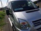 Cần bán Ford Transit MT sản xuất 2014, màu bạc, giá tốt