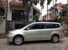 Gia đình cần bán Nissan Livina 1.8MT màu vàng cát, đời 2012, xe tên chính chủ