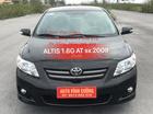 Cần bán xe Toyota Corolla Altis 1.8G AT đời 2009, màu đen