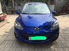 Bán Mazda 2 năm sản xuất 2012, màu xanh lam, số sàn