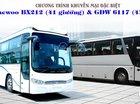 Siêu khuyến mãi cực hấp dẫn cho xe khách giường nằm Daewoo BX212 (41 giường)