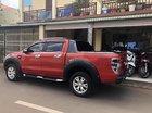 Cần bán gấp Ford Ranger sản xuất năm 2015, màu đỏ, nhập khẩu số tự động