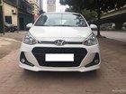 Cần bán gấp Hyundai Grand i10 1.2AT đời 2017, màu trắng, biển quá đẹp (thần tài lớn)