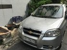 Cần bán lại xe Chevrolet Aveo LT năm sản xuất 2012, màu bạc chính chủ, giá 210tr