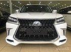 Bán Lexus LX570 Super Sport S model 2019 xuất Trung Đông trắng, nội thất nâu - LH: E Đình 0904927272